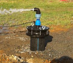 Обустройство оголовка скважины на воду